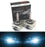HID Xenon D1S Two Bulbs Head Light 8000K Icy Blue Bi-Xenon Replacement Plug Play