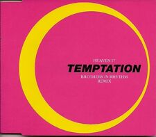 Heaven 17 Temptation (Brothers In Rhythm Remix) UK CD Single