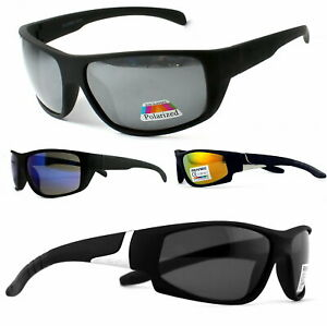 Sport Sonnenbrille Angelbrille Polbrille Polarisationsbrille Schwarz Matt GRX