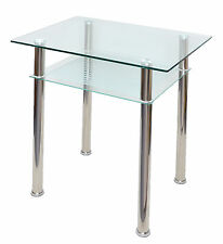 Esstisch glas edelstahl  Moderne Tische aus Metall & Glas | eBay