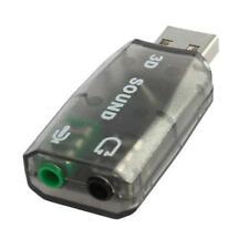 Adattatore Audio USB Esterna Scheda Audio Stereo 3D convertitore adattatore di canale 5.1