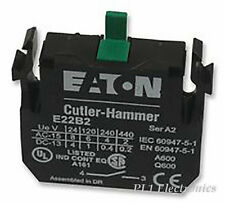 Cutler-Hammer Eaton E22B2 Contact Block 1no Screw Terminals 6a 110/120v