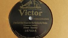Aileen Stanley - 78rpm single 10-inch –Victor #18703 Singin' The Blues
