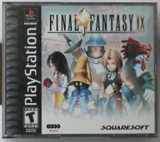 Videogame FINAL FANTASY IX PSX PS1 PSONE - Usato USED LIKE NEW - 1st print RARE