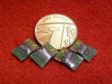 Dolls House Miniature 4 Packets of 1:24th Scale Crisps (C5)