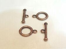 5 Pares X Coppertone bucle y alternar Broches: bd531 Ct