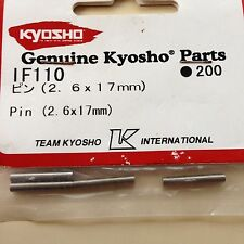 KYOSHO INFERNO MP7.5, NEO NEO 2, NEO ST, GT, 2.6mm x 17mm WHEEL HEX PINS , IF110