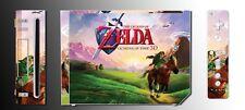Legend of Zelda Ocarina of Time 3D Link Epona Video Game SKIN Cover Nintendo Wii