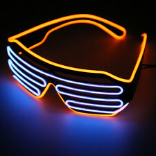 Glow LED Glasses Light Up Shades Flashing Rave Festival Party Glasses TOP SQ