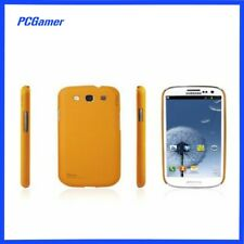 Galaxy S3 Soft Coated Case Cover Skin for Samsung  Yellow