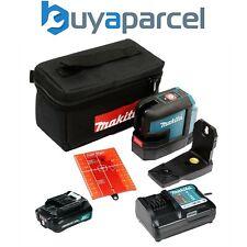 Makita SK105 12v Cxt Auto Nivelamento Cruz nível de linha laser vermelho 1x 2.0ah Bateria
