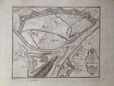 Namur siège 1726 fortification plan de ville Bodenehr 1692