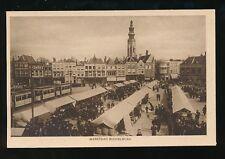 Netherlands MIDDELBURG Marktdag Market Day c1920s? PPC