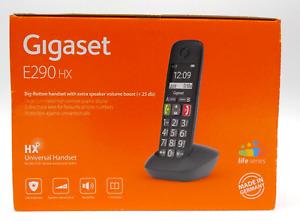 Gigaset E290HX , Schnurloses Seniorentelefon , großes Display und Tastenfunktion