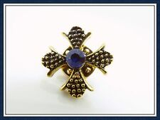 Pretty Cross Brooch,Pin,Religious,Gift Idea,Fashion,Vintage,Men,Women,Collar