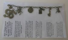 1 Antique bronze charm bracelet inspired by Harry Potter Chamber of Secrets Set2