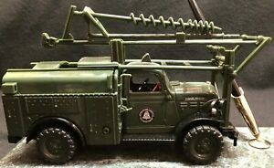 1950 Dodge Power Wagon Diecast Truck - On an AT&T Green Marble Base Pen Holder