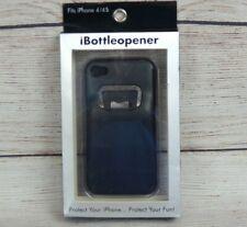 iBottleopener Phone Case with Bottle Opener Fits Apple iPhone 4/4S Black