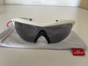 Giro Havik Sunglasses Compact Lens  White Frame Performance/cycling Glasses