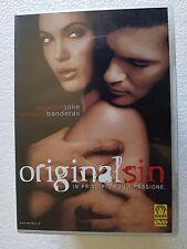 DVD USED THE ORIGINAL SIN - ANGELINA JOLIE ANTONIO BANDERAS -