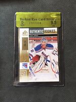 2011-12 SP GAME USED CAM TALBOT AUTHENTIC ROOKIE GOLD #ed 38/50 BGS 9.5 RAW