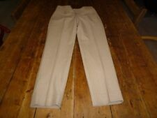 Wool Blend Tapered Regular Tailored Trousers for Women