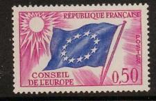 Francia sgc12 1963 del Consiglio d' Europa oppure MNH