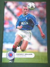 KENNY MILLER  - RANGERS  -1 PAGE PICTURE - CLIPPING /CUTTING