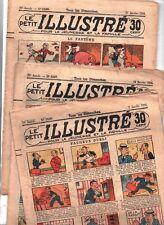 Le Petit illustré - 1934. Lot de 47 numéros. 1526/1577 - Bel état