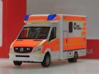"""Herpa Mercedes Sprinter Fahrtec RTW """"Rettungsdienst Dülmen"""" - 093675 - 1:87"""