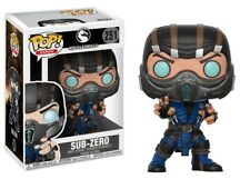 Funko POP! Games ~ SUB-ZERO VINYL FIGURE ~ Mortal Kombat