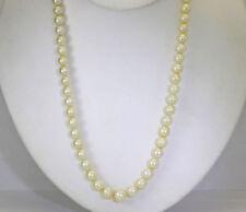 Collares y colgantes de joyería de oro blanco de 10 quilates