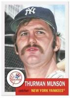 2019 Topps The MLB Living Set #259 Thurman Munson New York Yankees
