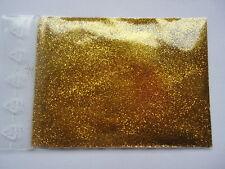 10g *sonnengelb* Glitzerpulver Glitter Glimmer Basteln Deko Nailart Schminken