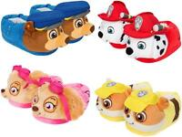 PAW PATROL BOYS & GIRLS CHILDRENS 3D SLIPPERS RUBBLE CHASE SKYE MARSHALL GIFTS