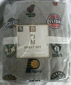 Pottery Barn Teen NBA Western Conference Gray TWIN NWT OTHER