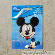 BonEful Boutique Disney Mickey Mouse Head Boy Sm Fabric Iron On Costume Applique