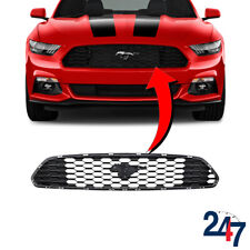 NEW FORD MUSTANG 2015 - 2018 FRONT CENTER GRILL W/O BADGE FR3Z8200AA