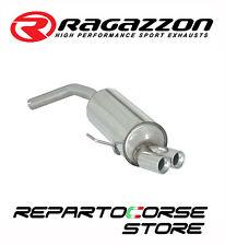 RAGAZZON SCARICO TERMINALI TONDI 2x70mm ALFA ROMEO 156 2.0JTS 122kW 166CV 03/02►