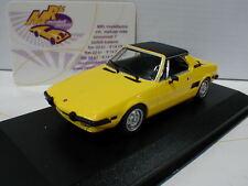 """Minichamps 940121660 # Fiat X1/9 Coupe Baujahr 1974 in """" gelb-schwarz """" 1:43"""