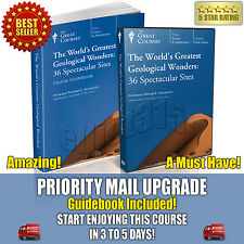 World's Greatest Geological Wonders DVD New Sealed Great Courses Teaching Co