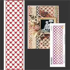 Mesh Hearts Vertical Border Metal Die Cheery Lynn Cutting Dies wedding