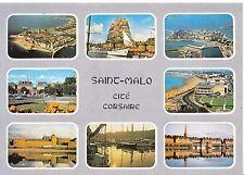 France Postcard - La Bretagne En Couleurs - Views of Saint Malo   SM300