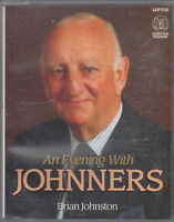 Brian Johnston An Evening With Johnners 2 Cassette Audio Book Cricket Humour