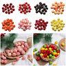 20Pcs Mini Artificial Fake Fruit Vegetables Fruits Home House Party Ornaments