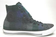 Converse WoolRich Size 9 Hi Top Sneakers Wool Blue Gray New Womens Shoes