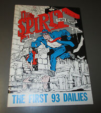 1980 THE SPIRIT First 93 Dailies 2nd Ed. by Will Eisner VF+ Comic Strip