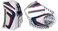 Warrior Messiah Pro goalie blocker glove catcher senior regular navy/red hockey