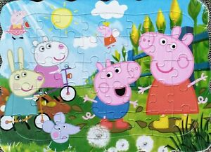 Peppa Pig New Friends PARTY Drawing 40 Pcs Jigsaw Puzzles Best Gifts for Kids