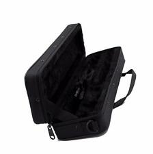 Black Oxford Cloth Adjustable Shoulder Strap Flute Case Carrying Gig Bag